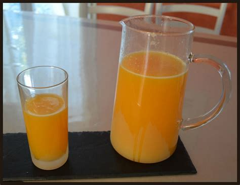 jus d orange au cook in le scrap et la cuisine de frou