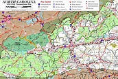 Image result for map of western nc cities   NC ...