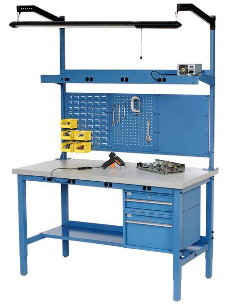 adjustable height workbench adjustable work table