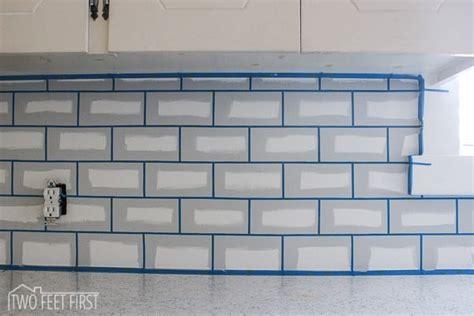 Subway Tile Kitchen Backsplash Diy : Diy Cheap Kitchen Backsplash