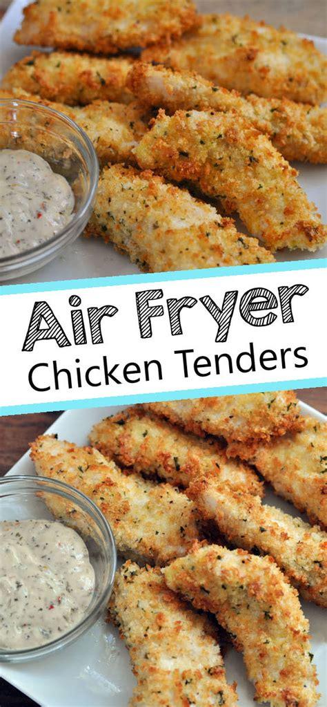 air fryer chicken tenders recipe recipes airfryer tenderloin breakfast