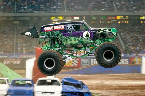 gravedigger monster truck video poetry friday life and death on the living room rug