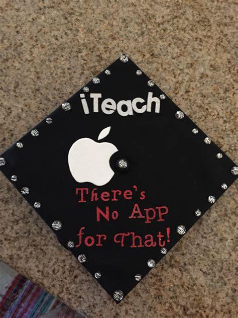 education major graduation caps  graduation  pinterest