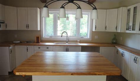cuisine comptoir bois comptoirs de cuisine en bois les planches à découper pic