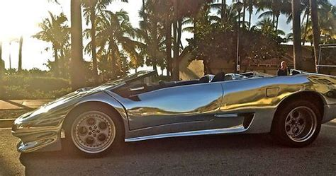 sell  chrome lamborghini diablo twin turbo exotic