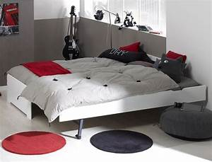 17 meilleures idees a propos de lit gigogne enfant sur for Amenagement chambre ado avec matelas renault 80x200