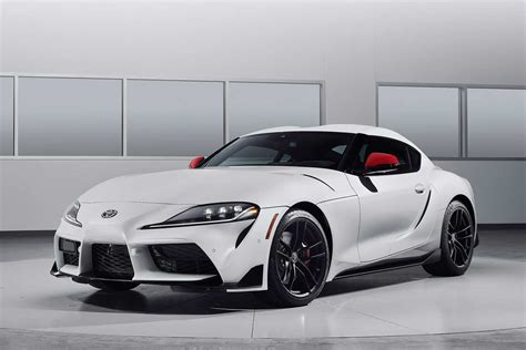 toyota supra absolute  white front autobics