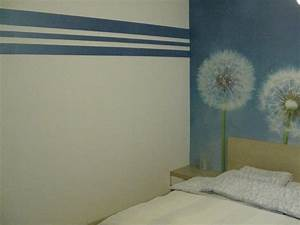 Schlafzimmer Streichen Farbe : wandgestaltung schlafzimmer beispiele ~ Markanthonyermac.com Haus und Dekorationen