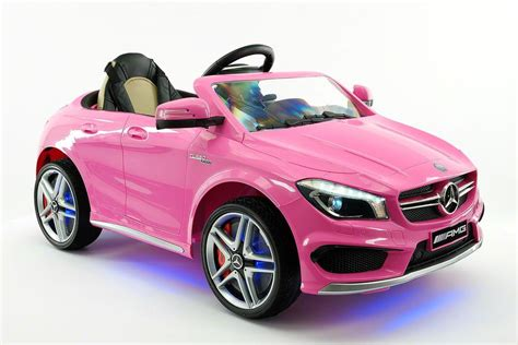 Mercedes Cla45 Amg 12v Kids Ride-on Car With Parental