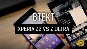Sony Xperia Z2 vs Xperia Z Ultra - MWC 2014 - YouTube