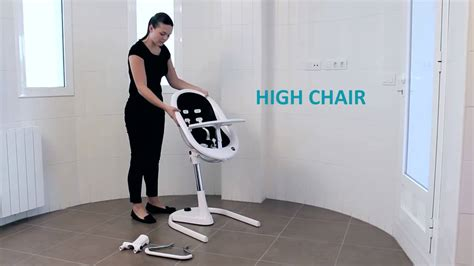 chaise haute transat bébé chaise haute transat évolutive moon de mima