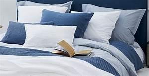 Couvre Lit Bleu : vandyck couverture gaufr e couvre lit home 71 fan denim bleu bath living ~ Teatrodelosmanantiales.com Idées de Décoration