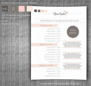 Pricing Guide Template