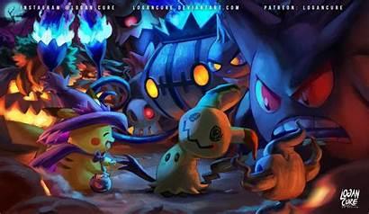 Pokemon Mimikyu Halloween Pikachu Logancure Deviantart Fan