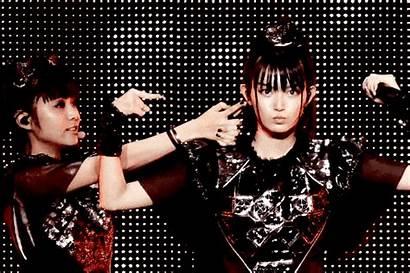 Babymetal Metal Singer Layered Bands Heavy Fox