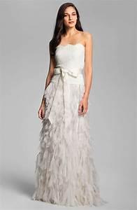 8 beautiful wedding dresses for under 500 onewed With tadashi wedding dresses