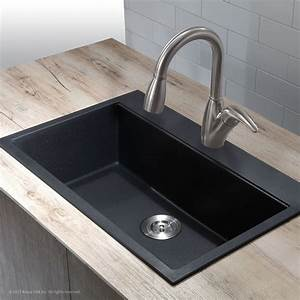 kitchen granite kitchen sinks and how to install With how to replace bathroom sink countertop