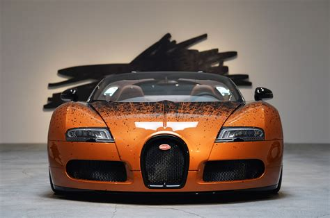 Bugatti Veyron Grand Sport Venet On Display At Ace Gallery