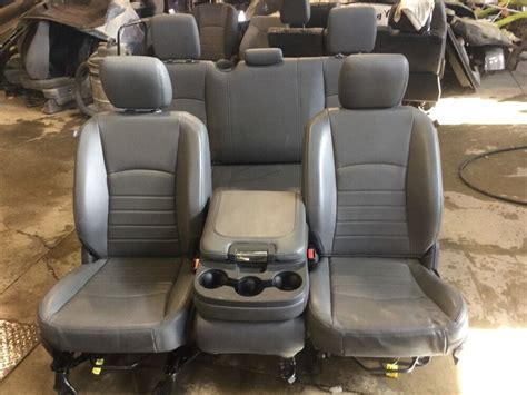 13 14 15 Dodge Ram 1500 2500 Front And Rear Vinyl Seat