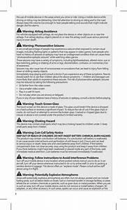 Microsoft 1780 Keyboard User Manual Statements