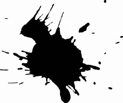 Splatter Paint Ink Transparent Splatters Splash Vol