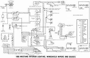 Windshield Wiper Wiring Diagram For 1966 Ford Mustang