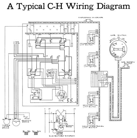 elevator electrical wiring diagram dejual com the elevator preservation blog