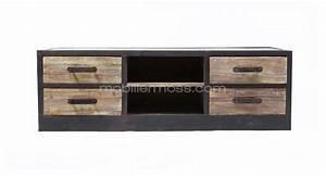 Meuble Industriel Ikea : 47 id es d co de meuble tv ~ Teatrodelosmanantiales.com Idées de Décoration