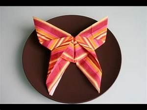 Servietten Rose Falten : servietten falten schmetterling napkin folding butterfly youtube ~ Eleganceandgraceweddings.com Haus und Dekorationen