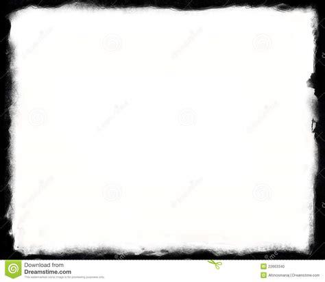 cadre noir et blanc seul cadre 8x10 noir et blanc photo stock image 22663340