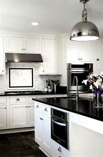 white kitchen idea black and white kitchens ideas photos inspirations