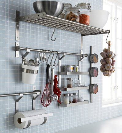 accessoires bureau ikea ikea stainless steel kitchen organizer set 15 75 inch