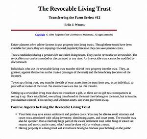 florida living trust template home design mannahattaus With trust documents definition
