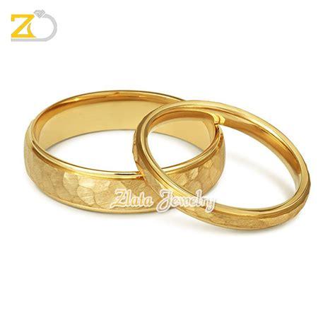 cincin kawin sepasang emas kuning 75 gd33121