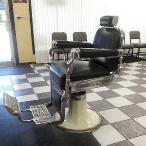 vtg antique barber chair headrest dentist koken kochs