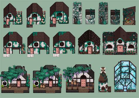 updated patch  medieval modern buildings  windmill