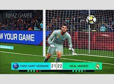 PES 2018 goalkeeper NEYMAR vs goalkeeper RONALDO