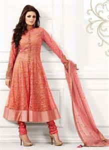 floral embroidered wedding dress drashti dhami net anarkali suit