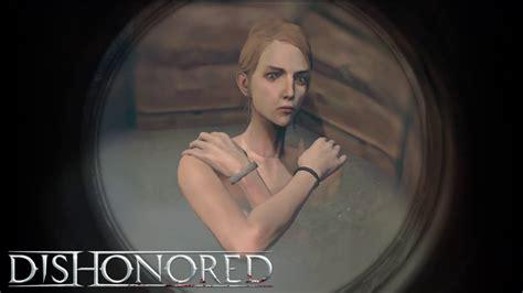 dishonored callista bathing youtube