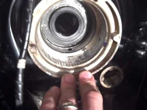 mercruiser   transom assembly install oil