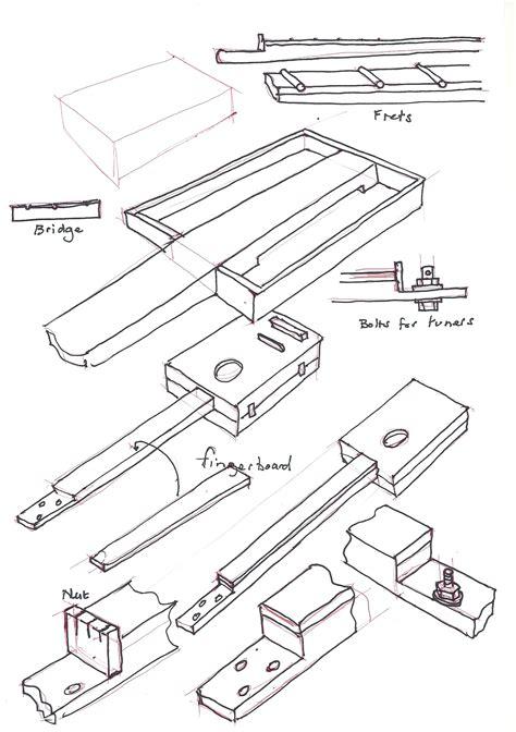 Cbg Wiring Diagram by Cigar Box Guitars Maverick09 S