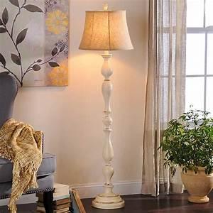 Cream Bella Floor Lamp Kirklands
