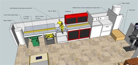 building  ultimate garage woodshop  sketchup plans