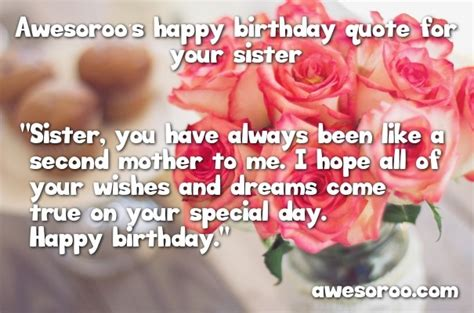 happy birthday sister status quotes wishes