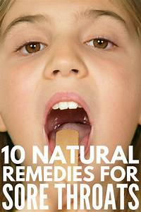 10 Natural Sore Throat Remedies For Kids That Actually