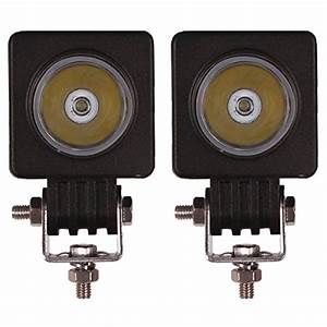 senzeal 2x 2 10w 1000lm high power cree led work light With cree outdoor 12v led linear lighting kit