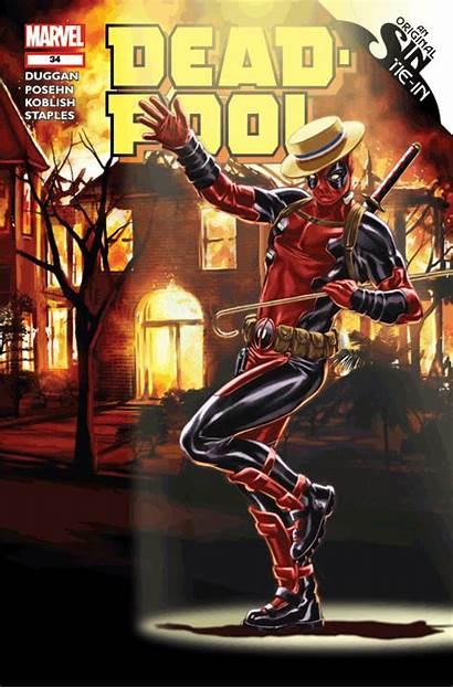 Deadpool 3d End Motion Variant Marvel Comics
