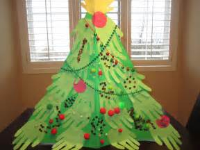 little townhome love handprint christmas tree craft