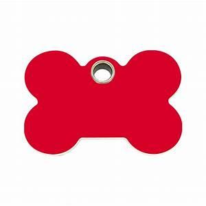 Red Dingo Plastic Tag Bone Red 04-BN-RE (4BNRS / 4BNRM ...