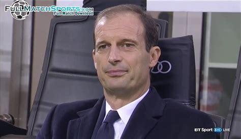 Full Match Milan vs Juventus Serie A 2016-17 ...